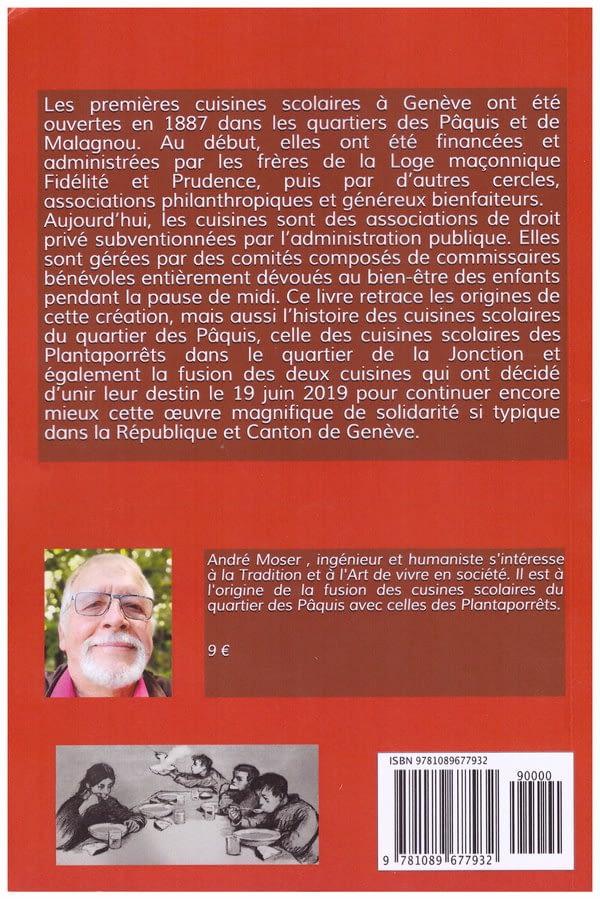 Histoire des cuisines scolaires à Genève 4ème de couverture