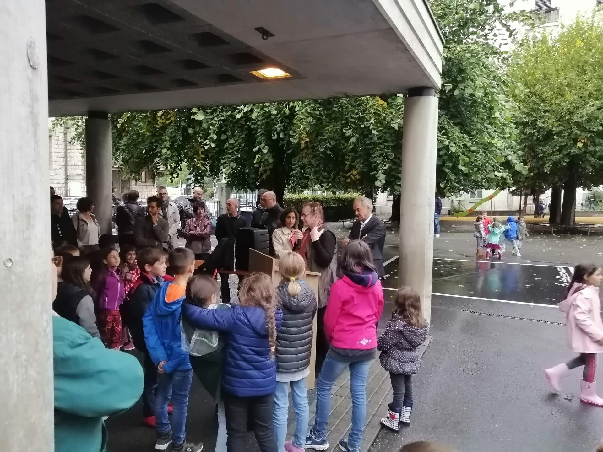 Inauguration de l'Ecole des Plantaporrêts